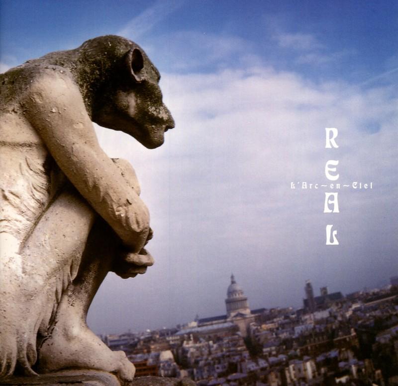love is a four letter word album cover - l arc en ciel real my album cover